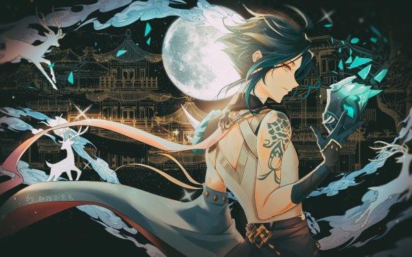 Video Game Genshin Impact Xiao HD Wallpaper | Background Image