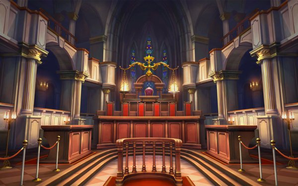 Video Game The Great Ace Attorney Chronicles HD Wallpaper   Background Image