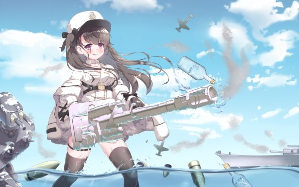 Anime Azur Lane Pamiat Merkuria HD Wallpaper   Background Image