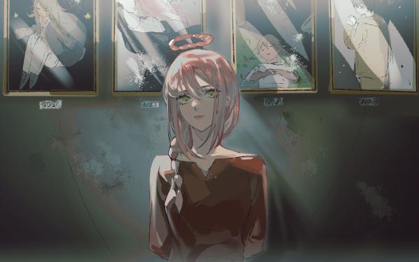 Anime Chainsaw Man Makima HD Wallpaper | Background Image