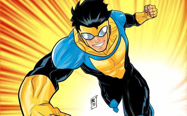 TV Show Invincible Mark Grayson Superhero HD Wallpaper | Background Image