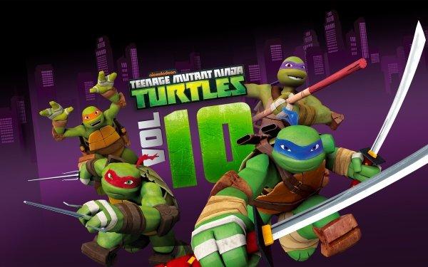 TV Show Teenage Mutant Ninja Turtles Michelangelo Raphael Donatello Leonardo HD Wallpaper | Background Image