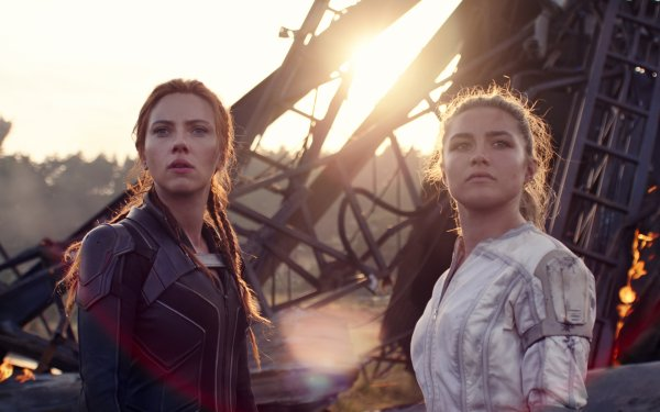 Movie Black Widow Scarlett Johansson Natasha Romanoff Florence Pugh Yelena Belova HD Wallpaper | Background Image