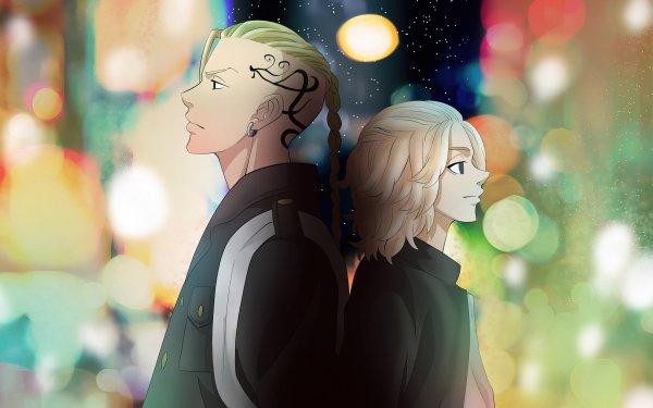 Anime Tokyo Revengers Mikey Manjiro Sano Ken Ryuguji HD Wallpaper | Background Image