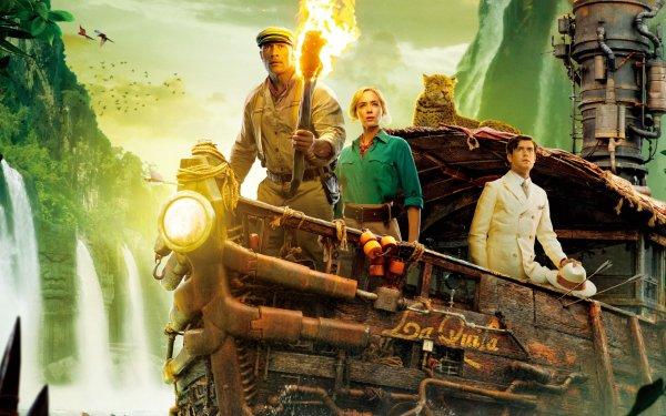Movie Jungle Cruise Dwayne Johnson Jack Whitehall Emily Blunt HD Wallpaper | Background Image