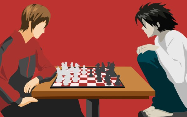 Anime Death Note Light Yagami Kira Chess HD Wallpaper   Background Image