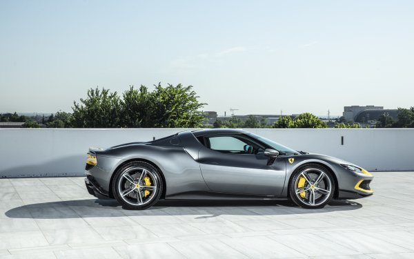 Vehicles Ferrari 296 GTB Supercar HD Wallpaper | Background Image