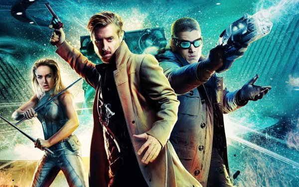 TV Show DC's Legends Of Tomorrow Rip Hunter Captain Cold White Canary HD Wallpaper | Background Image