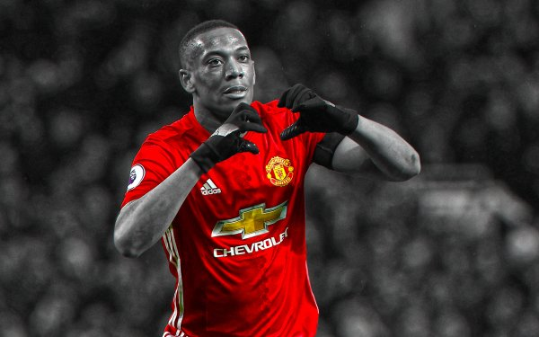 Sports Anthony Martial Soccer Player Manchester United F.C. HD Wallpaper | Background Image