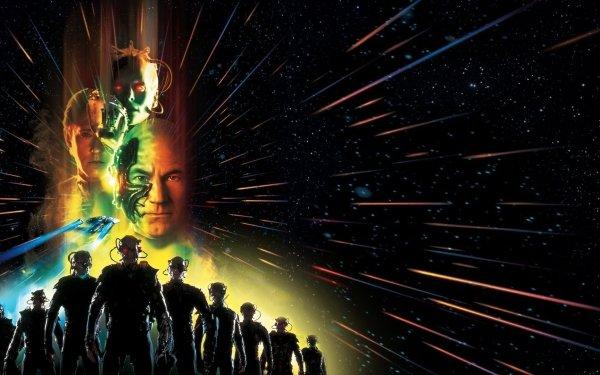 Movie Star Trek: First Contact Star Trek Jean-Luc Picard Patrick Stewart Data Brent Spiner Borg Queen HD Wallpaper | Background Image