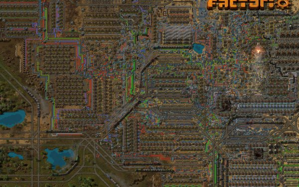 Video Game Factorio HD Wallpaper | Background Image