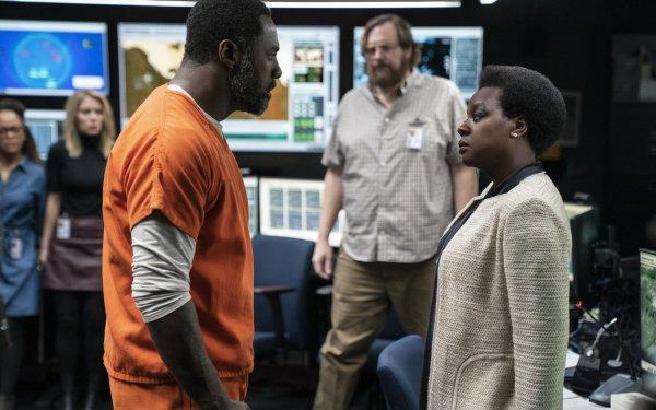 Movie The Suicide Squad Amanda Waller Viola Davis Idris Elba Bloodsport HD Wallpaper | Background Image