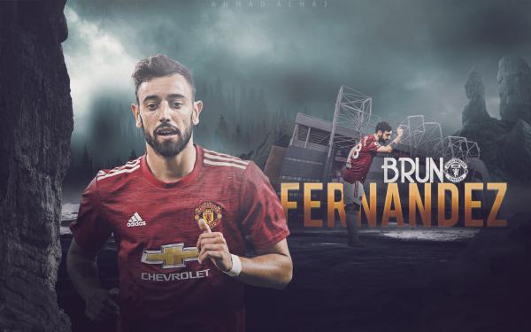 Sports Bruno Fernandes Manchester United F.C. HD Wallpaper | Background Image
