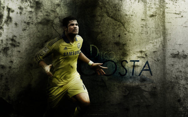 Sports Diego Costa Soccer Player Chelsea F.C. HD Wallpaper   Background Image