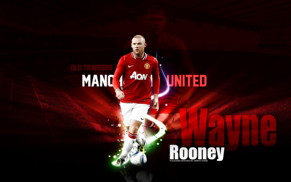 Sports Wayne Rooney Soccer Player Manchester United F.C. HD Wallpaper | Background Image