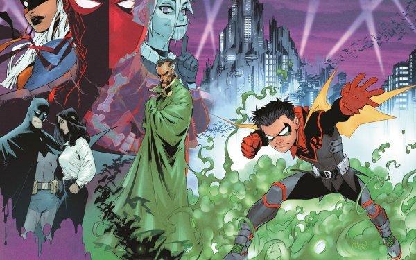 Comics Robin Damian Wayne Ra's al Ghul Batman Talia al Ghul Ravager Rose Wilson DC Comics HD Wallpaper | Background Image