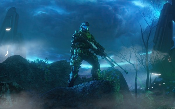 Video Game Halo 5: Guardians Halo HD Wallpaper | Background Image
