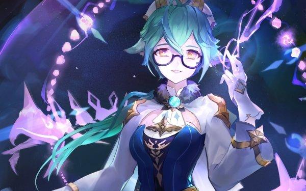 Video Game Genshin Impact Sucrose HD Wallpaper   Background Image