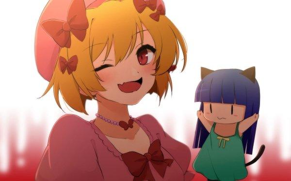 Anime Higurashi: When They Cry - New Furude Rika Hōjō Satoko HD Wallpaper   Background Image