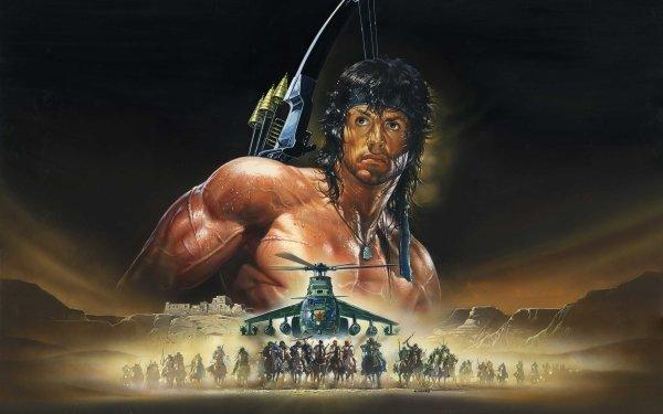Películas Rambo III Rambo Sylvester Stallone Fondo de pantalla HD   Fondo de Escritorio