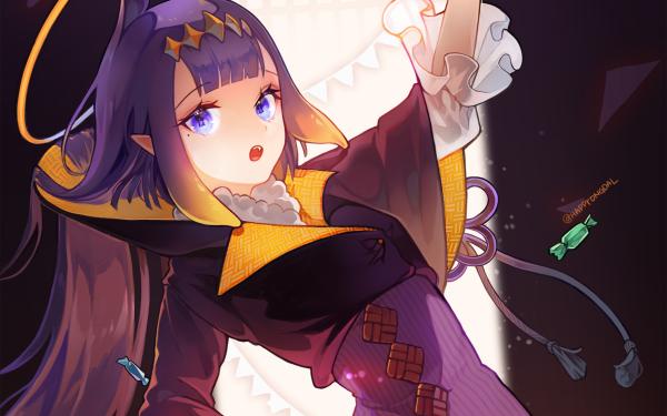Anime Virtual Youtuber Ninomae Ina'nis Hololive HD Wallpaper | Background Image
