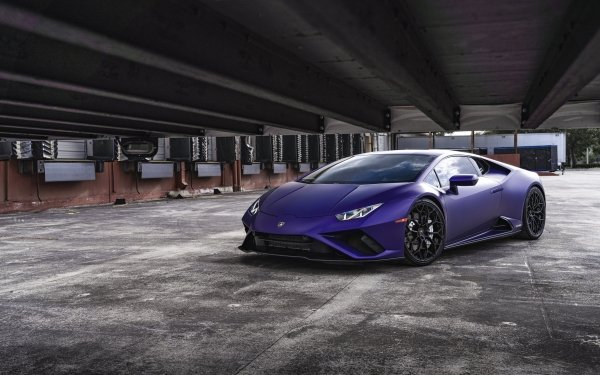 Véhicules Lamborghini Huracán Evo Lamborghini Supercar Purple Car Fond d'écran HD | Image