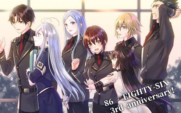 Anime Eighty Six Anju Emma Frederica Rosenfort Kurena Kukumira Raiden Shuga Shinei Nouzen Theoto Rikka Vladilena Milizé HD Wallpaper | Background Image