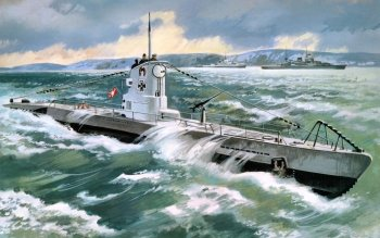 Military - German Type IIB Submarine Wallpapers and Backgrounds ID : 288202