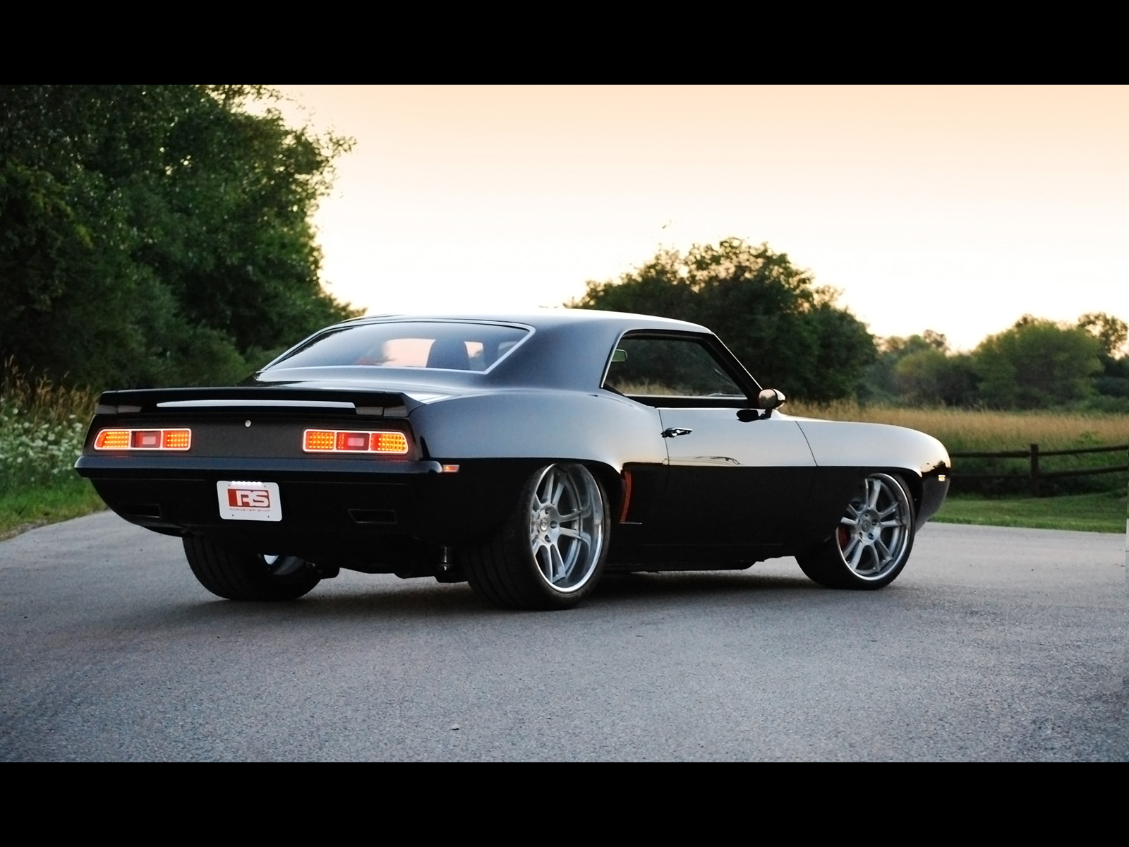1969 roadster shop chevrolet camaro wallpaper and background image