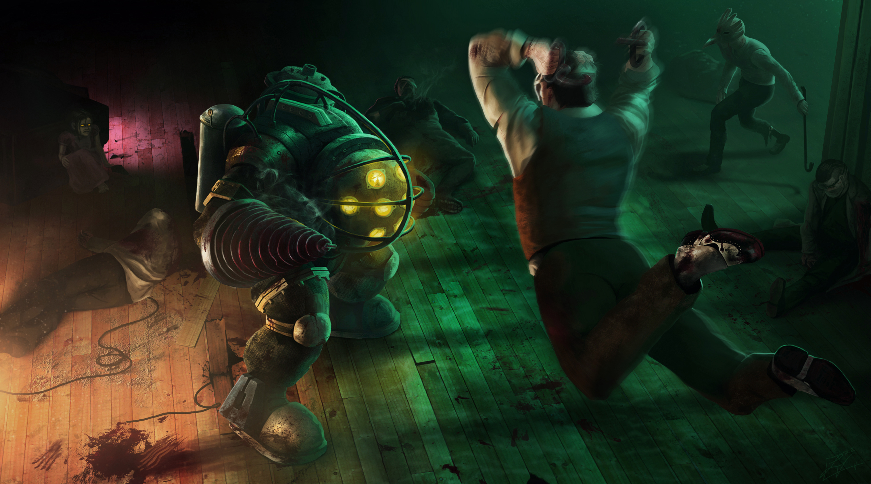 Bioshock 2 Full HD Wallpaper And Background Image