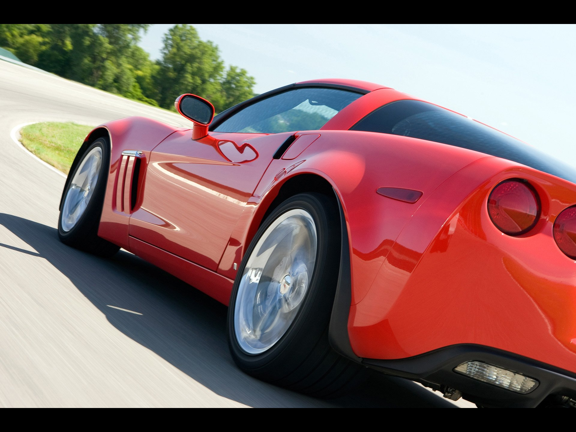 Corvette Grand Sport Iphone Wallpaper