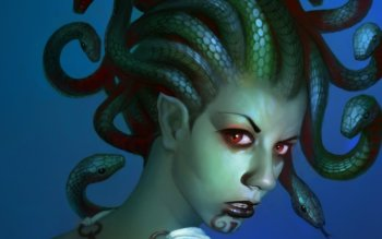 Фэнтези - Medusa Wallpapers and Backgrounds ID : 291852