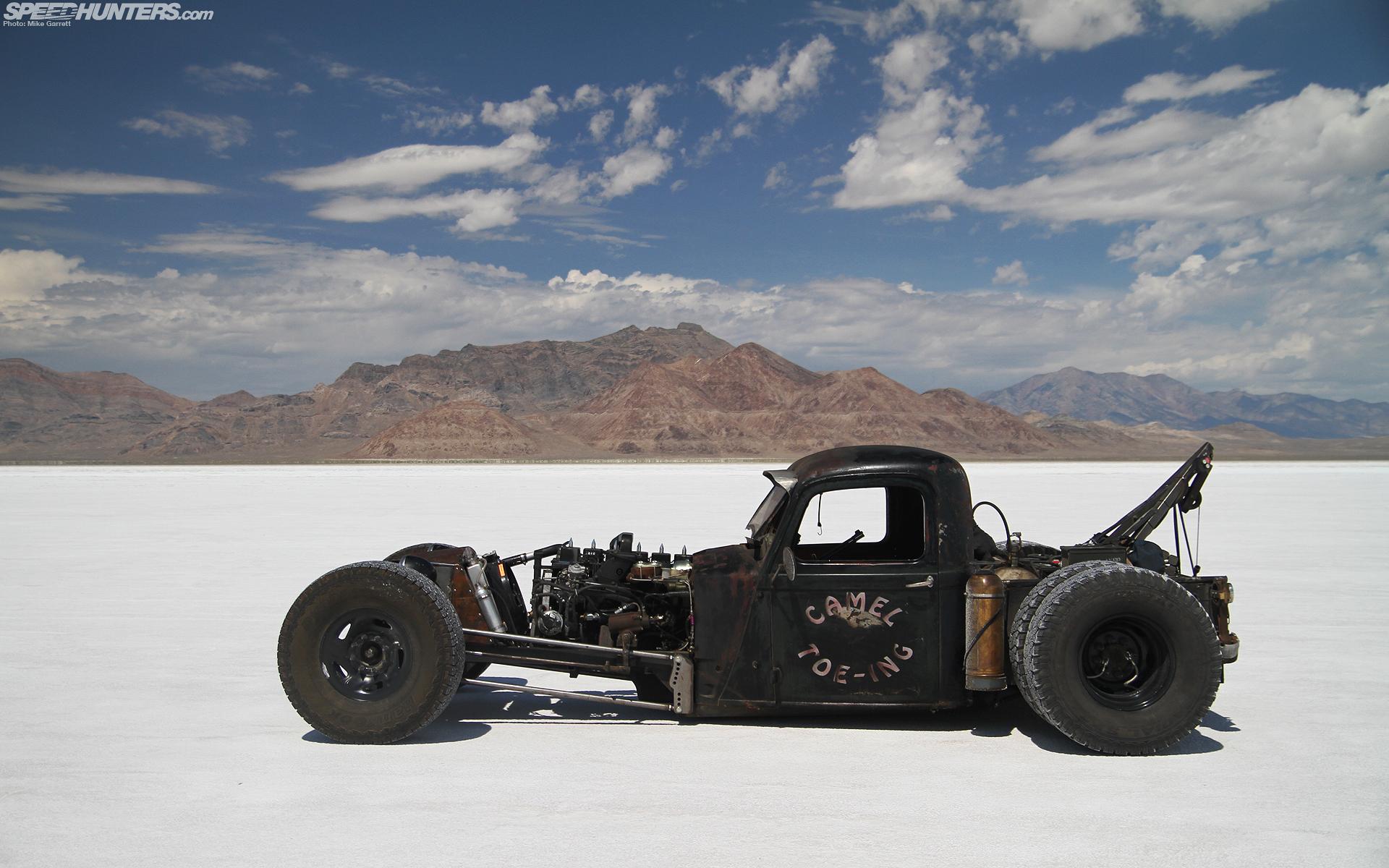 Rat Rod Hot Cars Wallpaper
