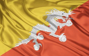 Diversen - Flag Of Bhutan Wallpapers and Backgrounds ID : 292400