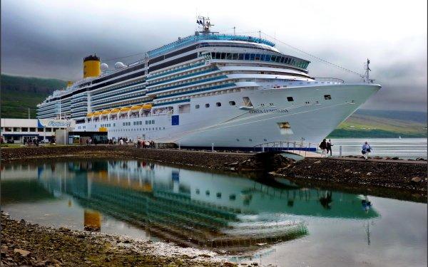 Vehicles Cruise Ship Cruise Ships HD Wallpaper | Background Image