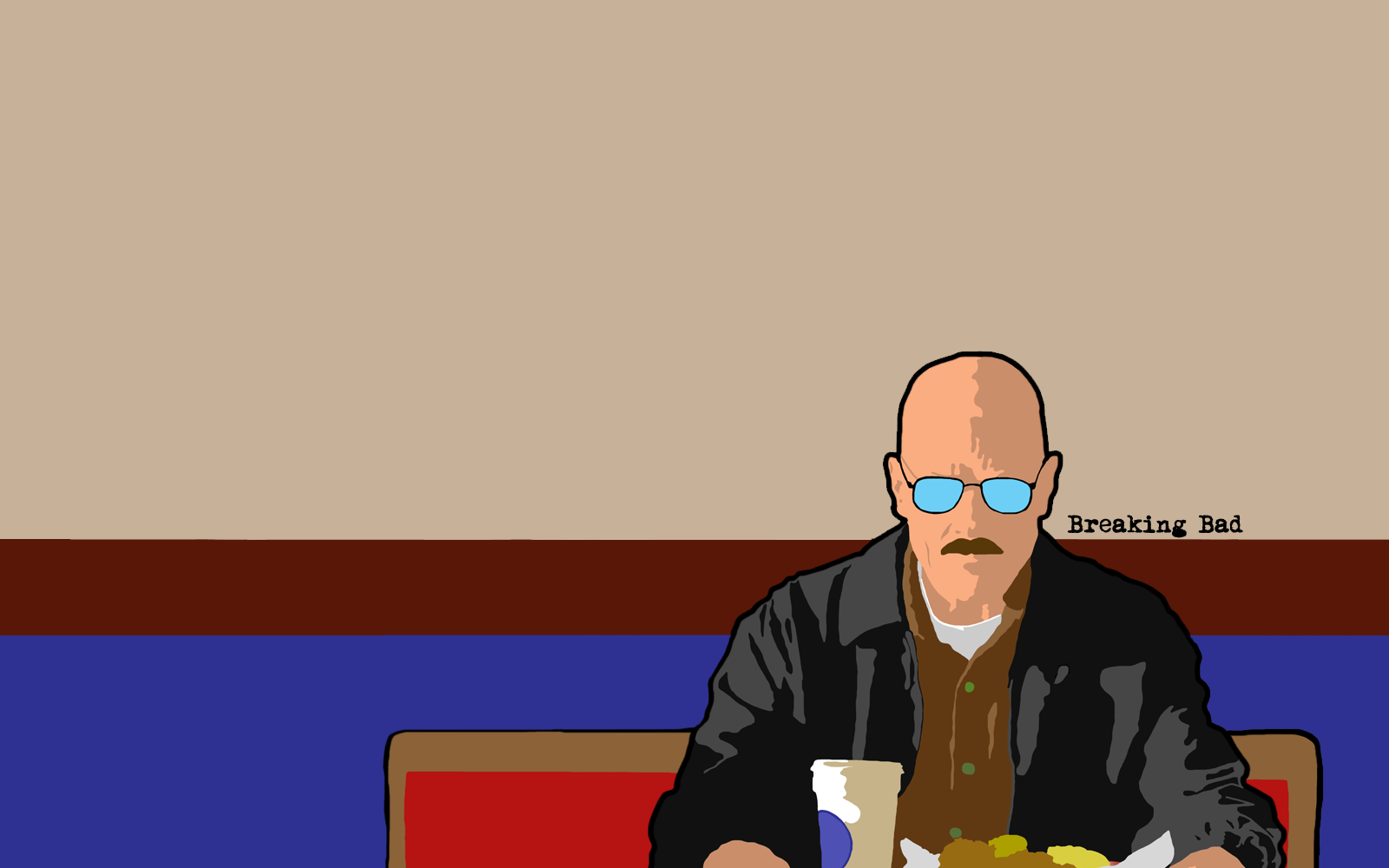 Si te gustó Breaking Bad tenés que guardar estos Wallpaper