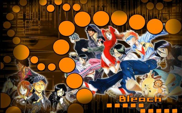 Anime Bleach Ichigo Kurosaki Kon Rukia Kuchiki Uryu Ishida Orihime Inoue Tatsuki Arisawa Yasutora Sado Kisuke Urahara HD Wallpaper | Background Image
