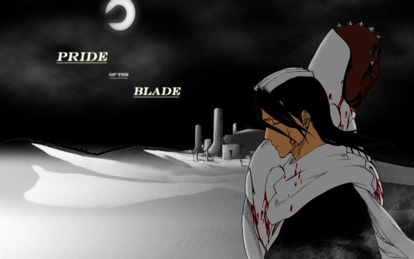 Anime Bleach Byakuya Kuchiki Zommari Rureaux HD Wallpaper | Background Image
