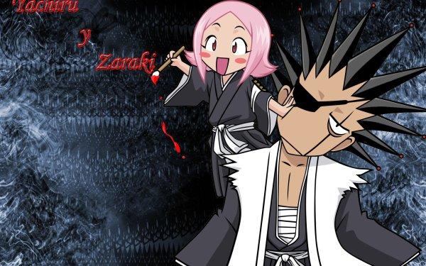 Anime Bleach Yachiru Kusajishi Kenpachi Zaraki HD Wallpaper   Background Image