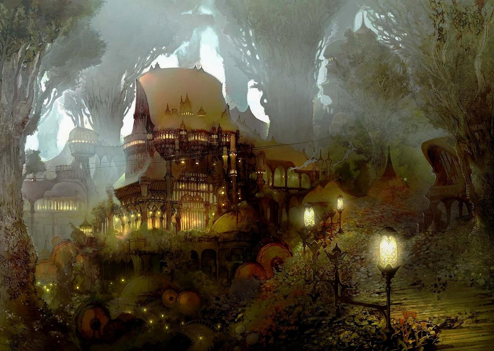 В дремучем лесу среди высоких и старых елей и деревьев стоял маленький домик.