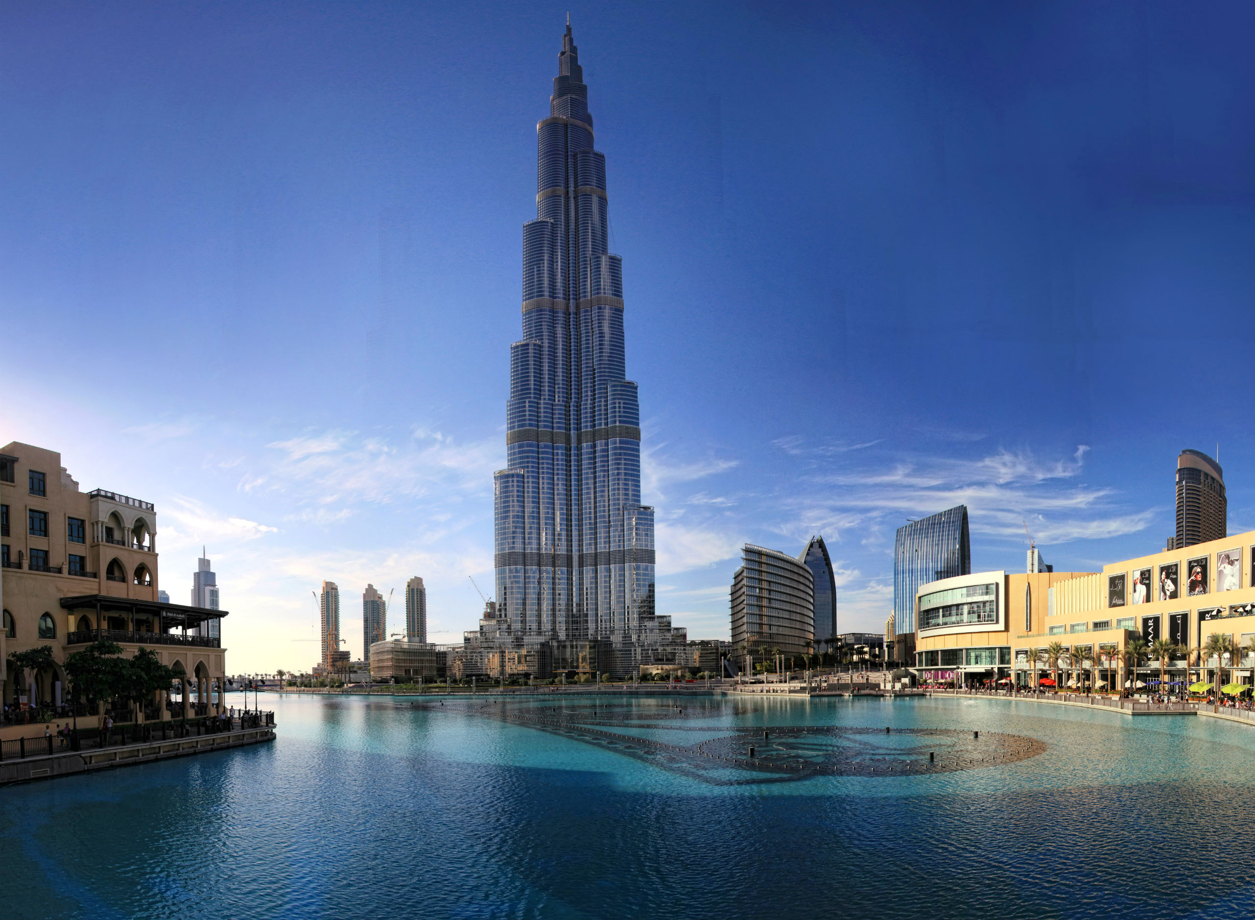 Khalifa Tower, Dubai Full HD Wallpaper And Background