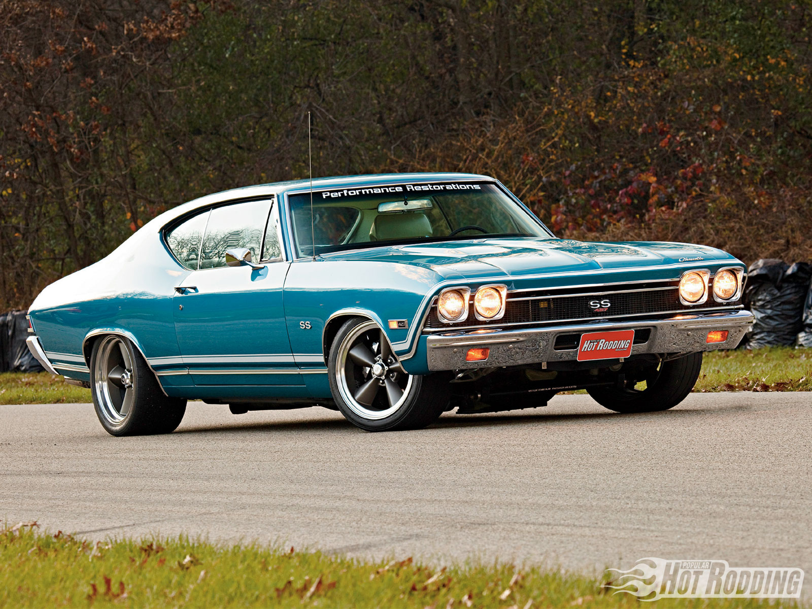 Chevy Muscle Car Wallpaper: 1968 Chevy Chevelle SS 900 H.p. Wallpaper And Background