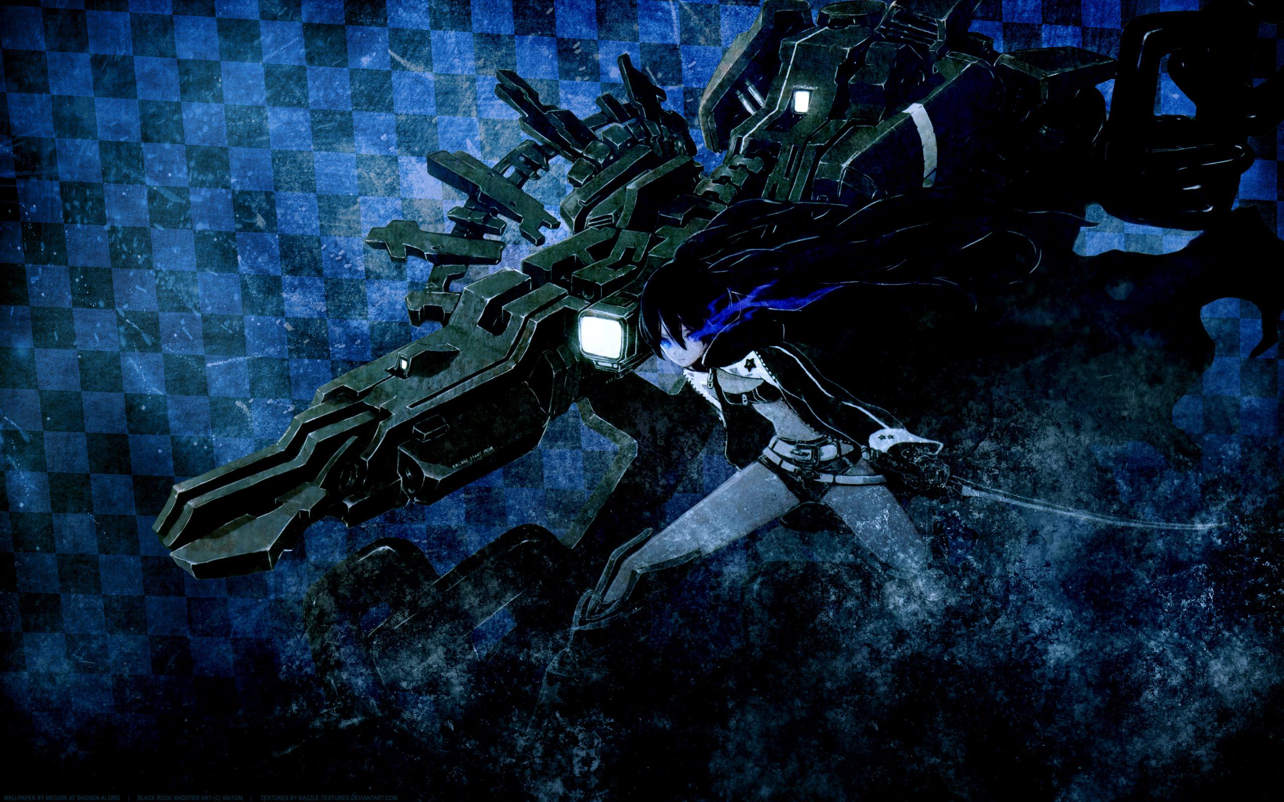 Black rock shooter full hd wallpaper and background image - Full hd anime wallpaper pack ...