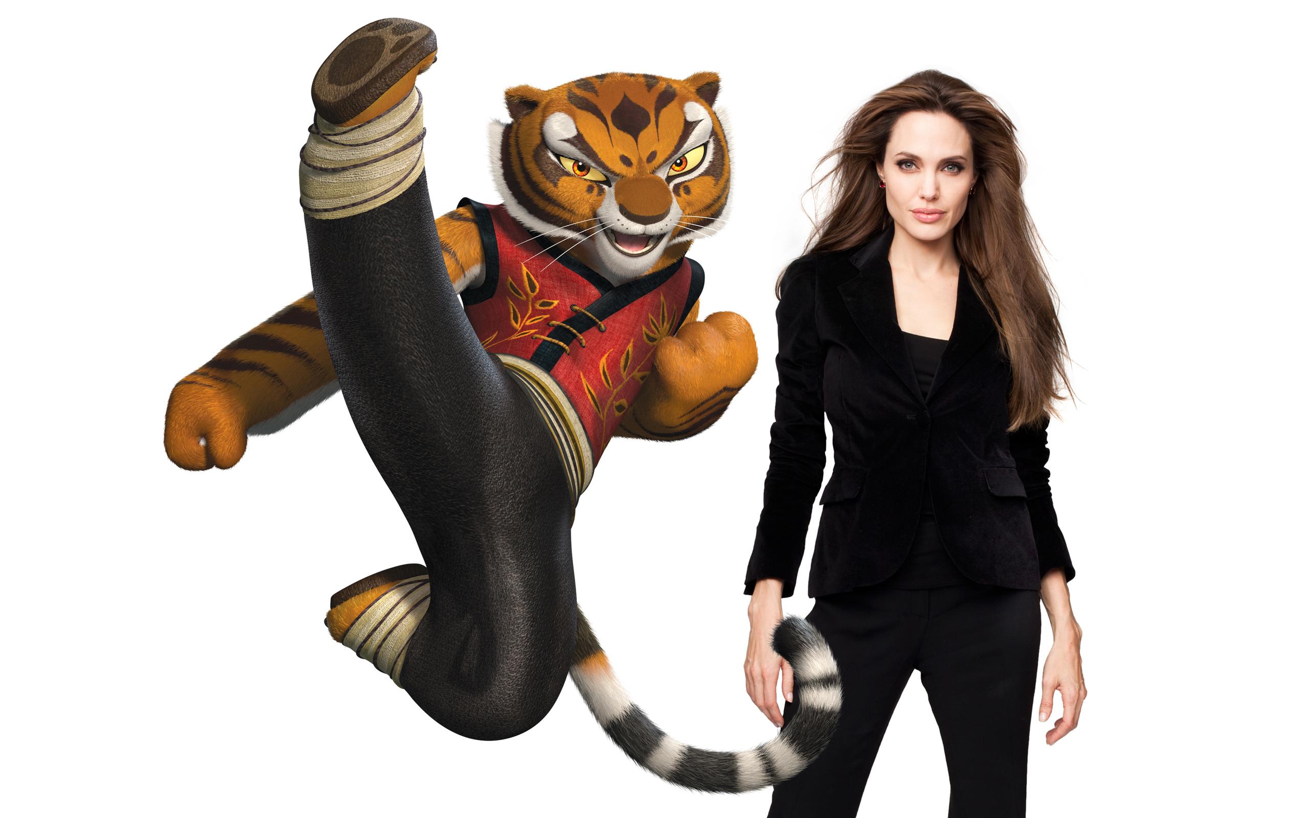 Angelina Jolie As Tigress Hd Wallpaper Hintergrund 2560x1600