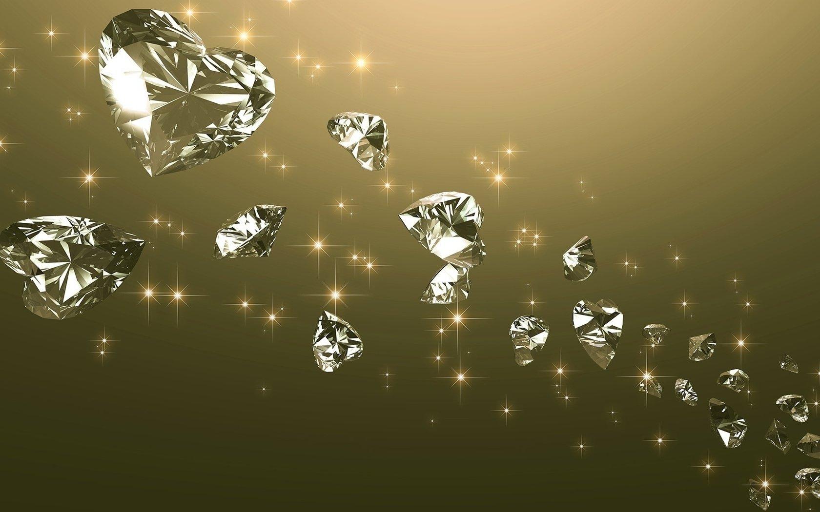 节日 - 情人节  Diamond Diamonds 爱 Romantic 壁纸