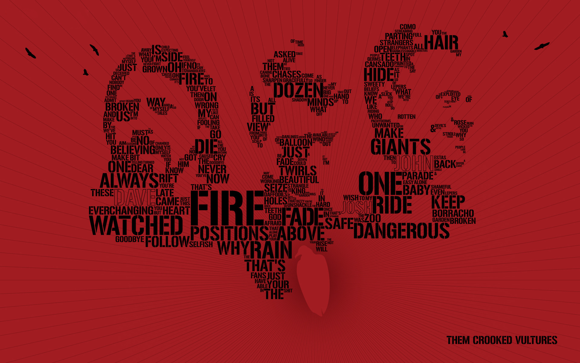 Google Calendar Live Wallpaper : Them crooked vultures full hd wallpaper and background