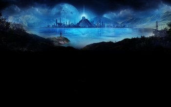 Fantasy - City Wallpapers and Backgrounds ID : 300010