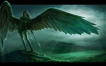 Fantasy - Angel Warrior Wallpapers and Backgrounds ID : 300122