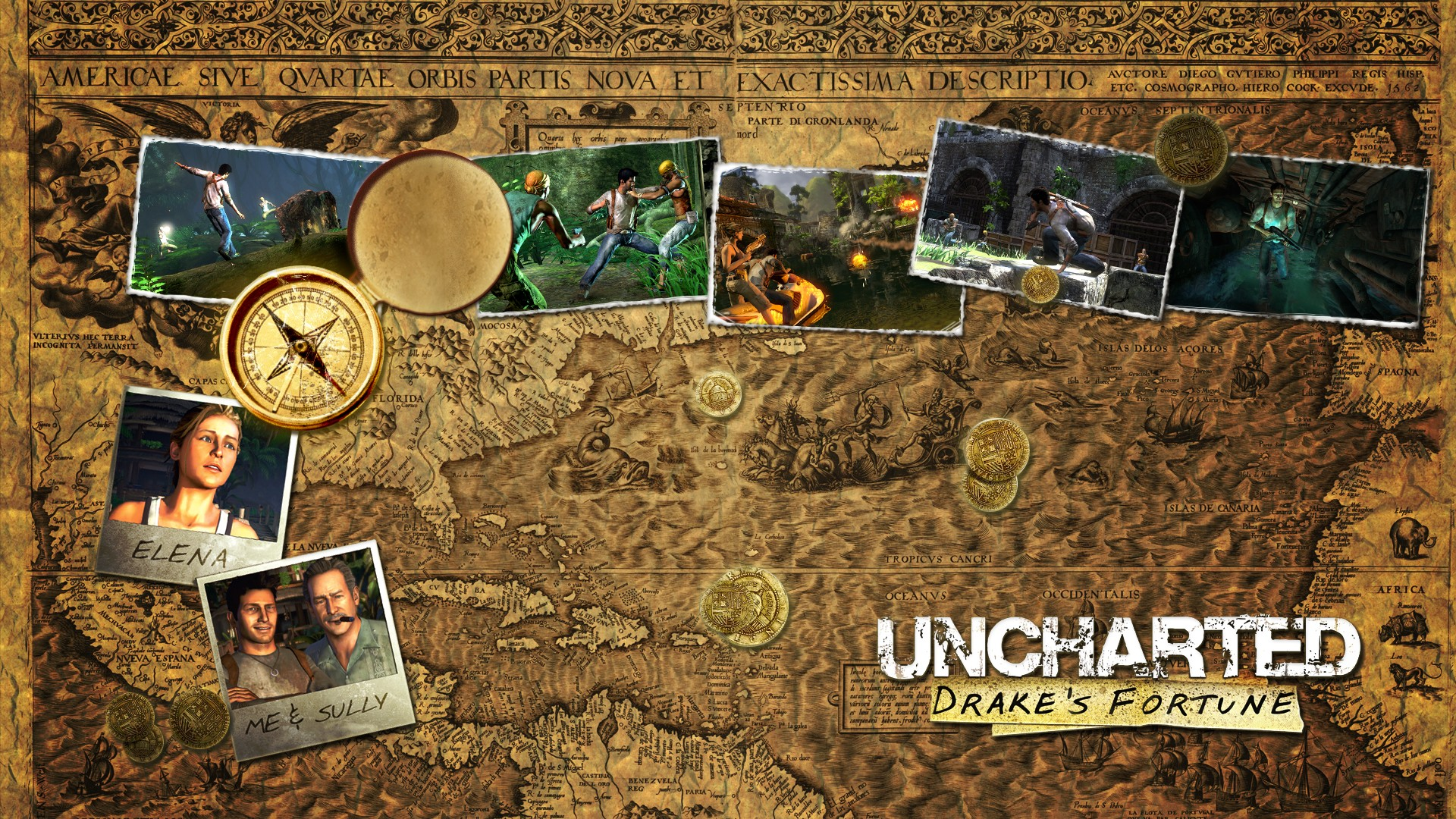 HD Wallpaper  Background ID Uncharted 1 Wallpaper