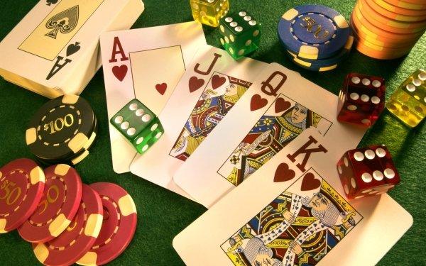 Game Casino Poker Dice HD Wallpaper | Background Image